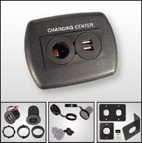 USB and 12-Volt Charging Centers and Ports by SIGMA
